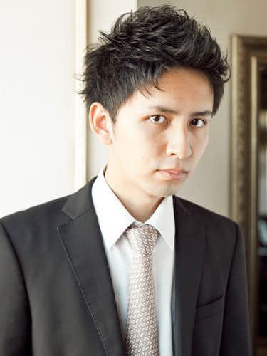 ソフトモヒカン 黒髪