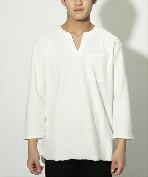 リピードの人気ヘンリーネックTシャツ