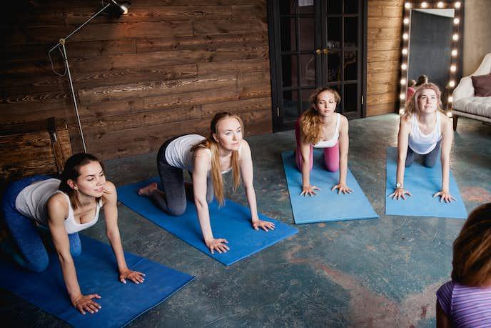6種類のプランクトレーニング