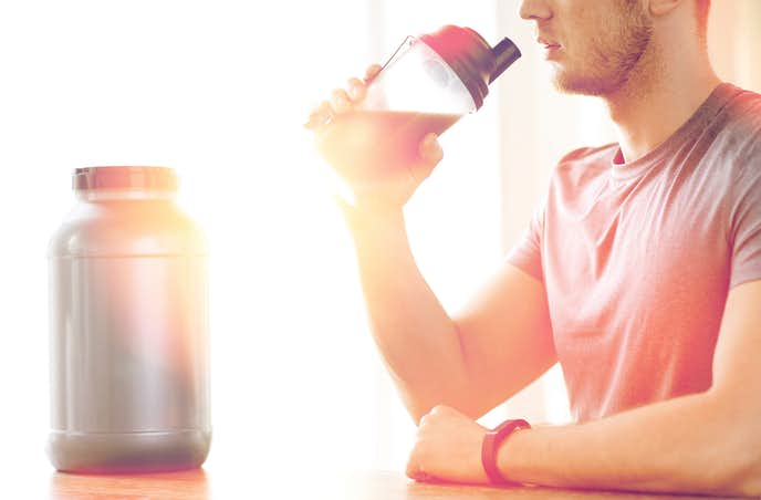 プロテインの飲み方『プロテイン+ココア』