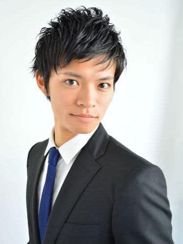 ソフトモヒカン ビジネスマン 髪型