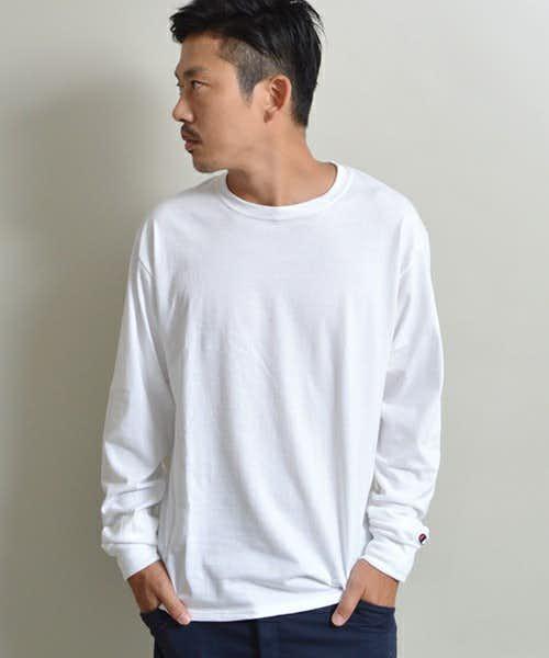 チャンピオンの人気UネックTシャツ