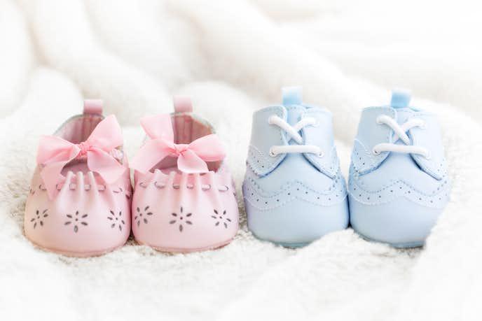 男の子と女の子の靴をご紹介