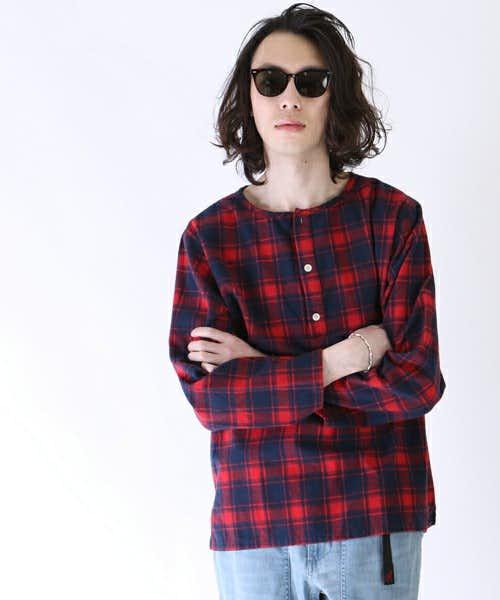 フリークスストアの人気ヘンリーネックTシャツ