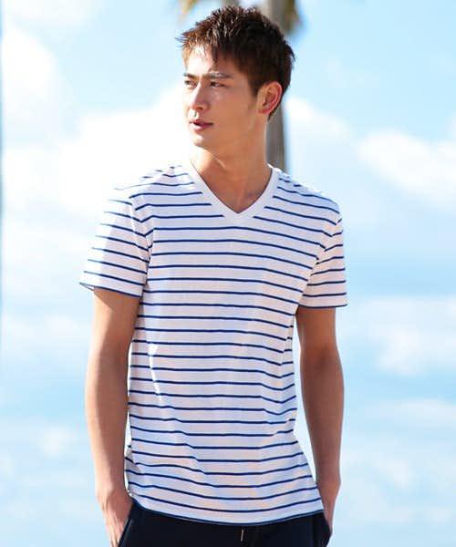 ジギーズショップの人気VネックTシャツ