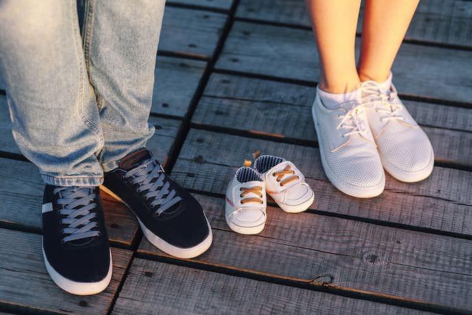 出産祝いには靴をプレゼント