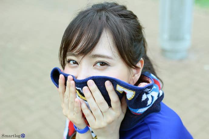日本代表応援女子