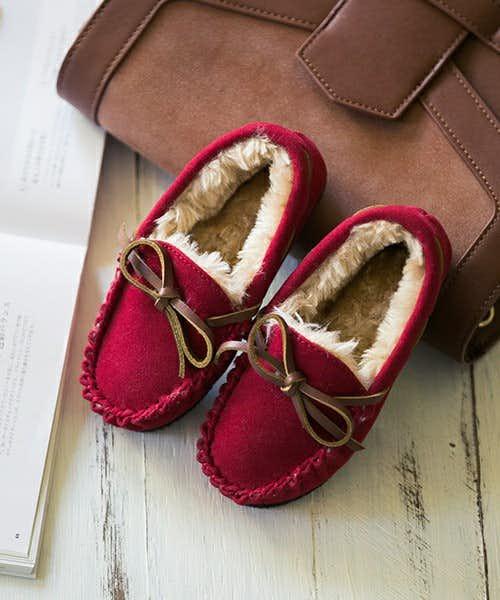 二人目の出産祝いはモーイモーイのおそろいの靴