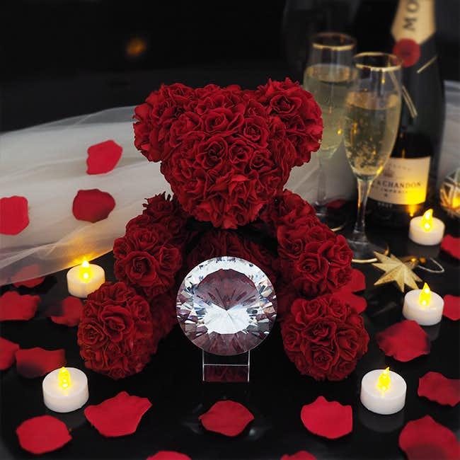 プロポーズのプレゼントにメリアルームのテディベア.jpg