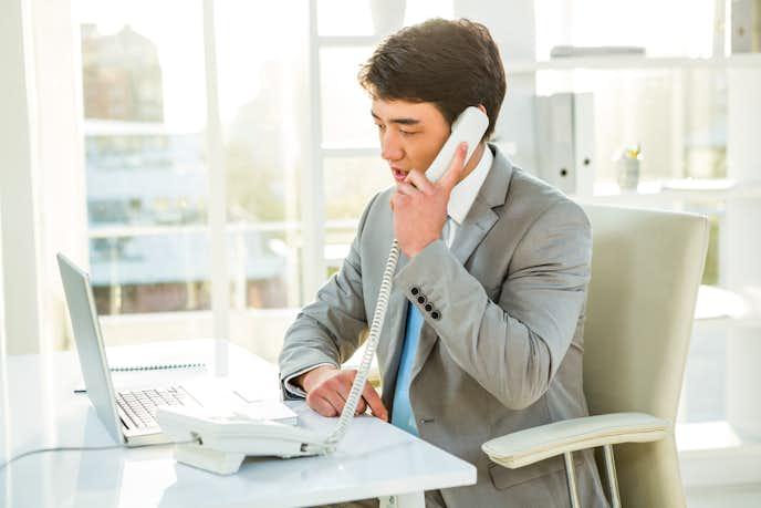 電話応対時のビジネスマナー