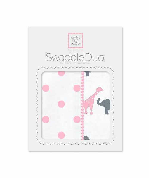 女の子の出産祝いはスワドルデザインズのブランケット
