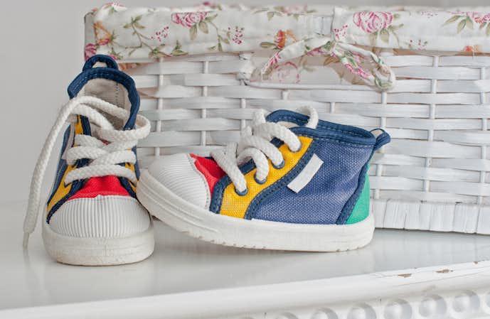 出産祝いのプレゼントはベビーシューズや靴