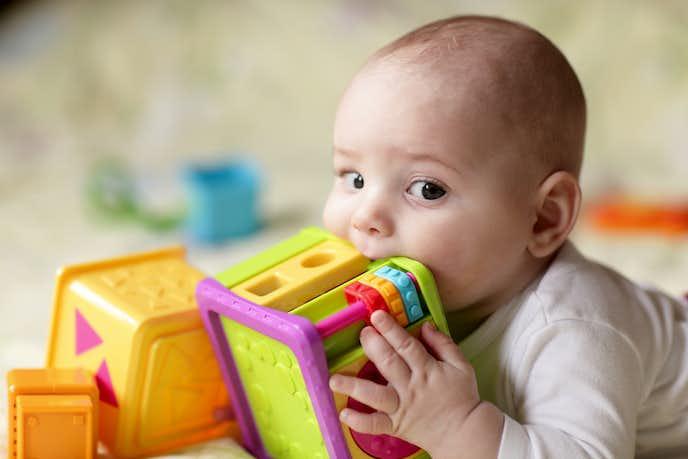 男の子向け出産祝いのギフトセットはおもちゃ