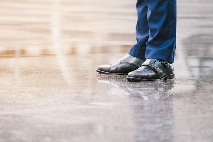 雨の日に履くべきおすすめの紳士靴