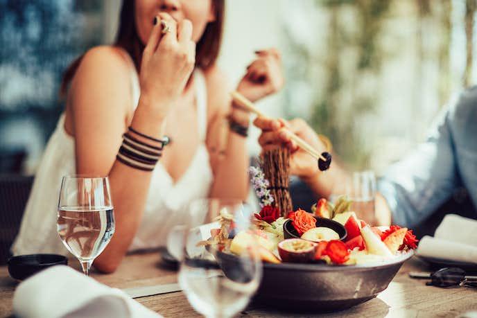 食事中の褒め言葉