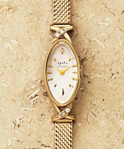 社会人の彼女への誕生日プレゼントにアガットの腕時計.jpg