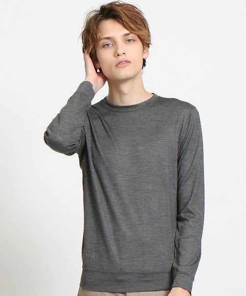 薄手で通年使いやすいTシャツ