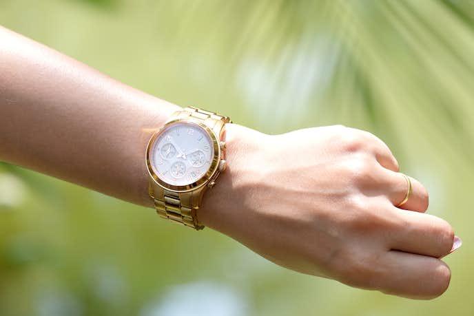 彼女への1年記念日のプレゼントに腕時計
