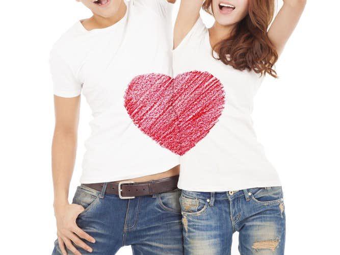 ペアルックTシャツの人気ブランド