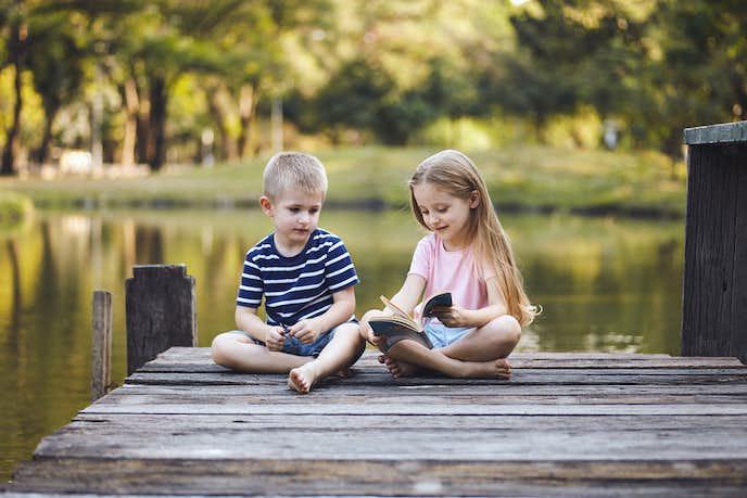 2歳の女の子と男の子の違い