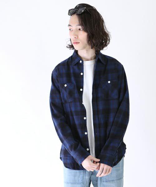 綺麗な作りのシャツ