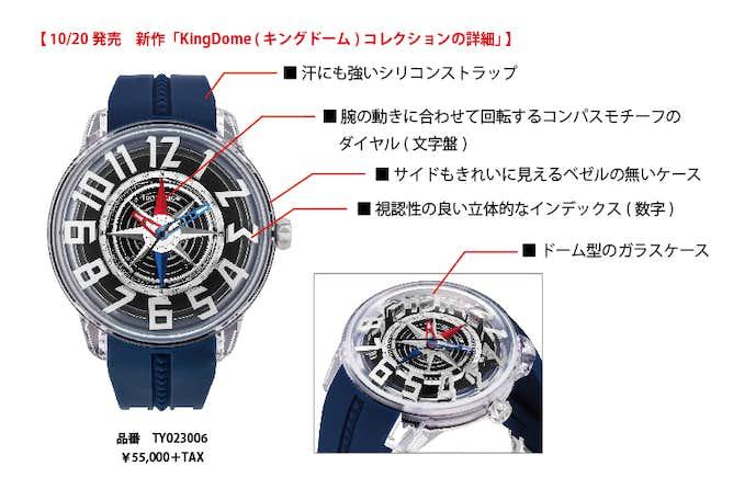時計のデザイン詳細