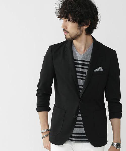 ストレスフリーに着られるジャケット