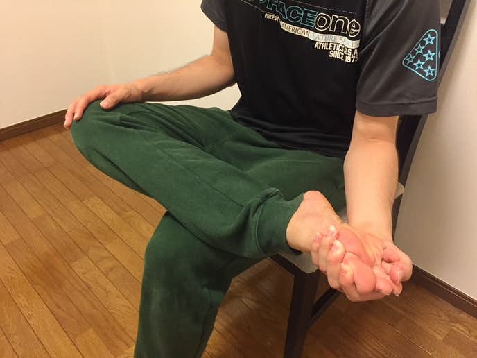 ふくらはぎ(前脛骨筋・長腓骨筋)の効果的なストレッチ方法