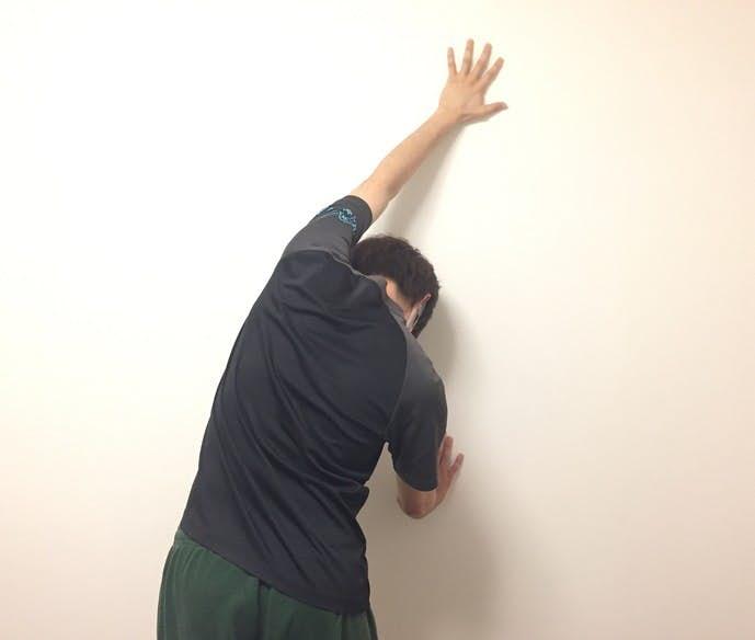 広背筋のストレッチ方法