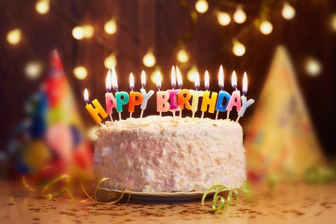 彼氏への誕生日プレゼントはケーキ