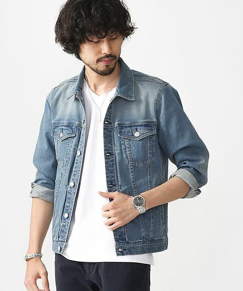 クセの無い王道的なデニムジャケット