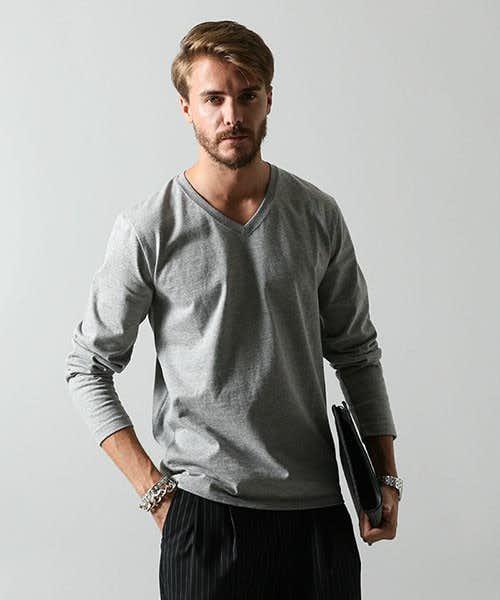 強い生地で使いまわせる長袖Tシャツ