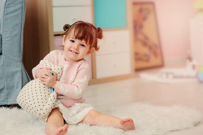 2歳の女の子の特徴