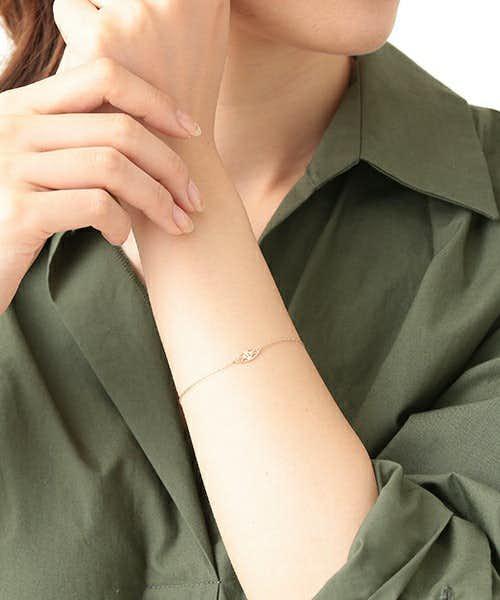愛する女性へ贈るアガットのK10ブレスレット.jpg