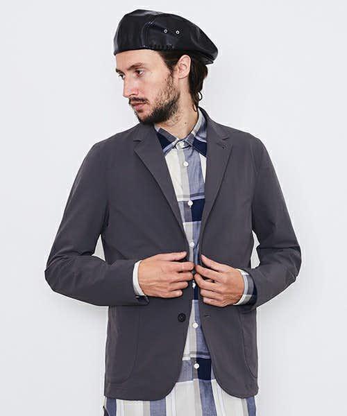 肌触りの柔らかいジャケット