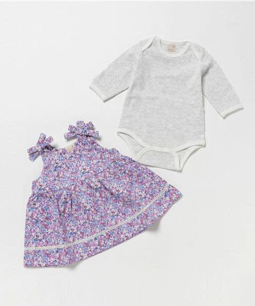1歳の女の子の誕生日プレゼントはプティマインの服
