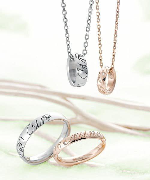ペアネックレスのおすすすめにブルームのディズニーダイヤモンドネックレス.jpg