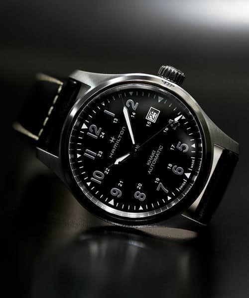 30代メンズにおすすめのハミルトンの別注カーキフィールドオートの腕時計.jpg