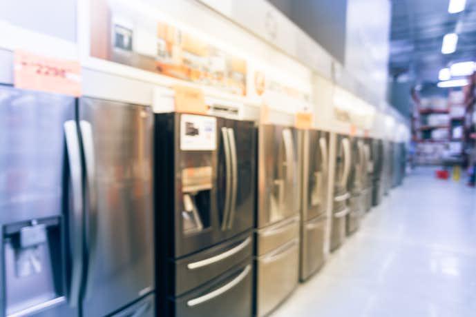 冷蔵庫はサイズごとに分類できる