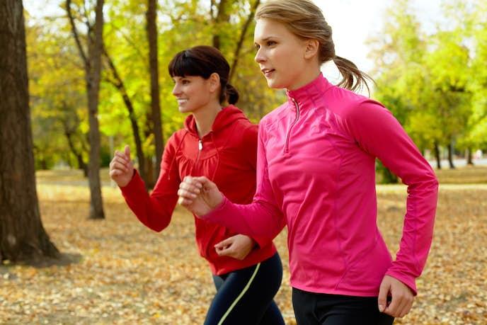 ジョギングでダイエットが成功した女性