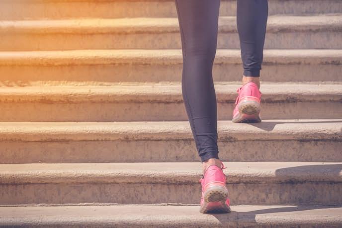 登山トレーニングに効果的な階段昇降