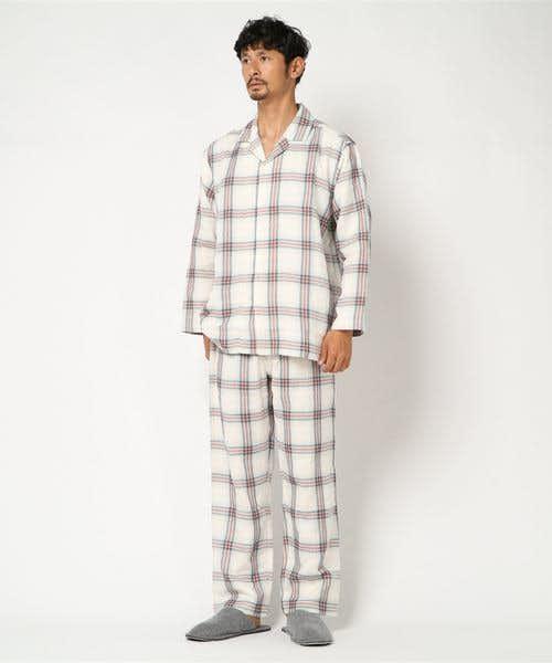 キッドブルーのペアパジャマ