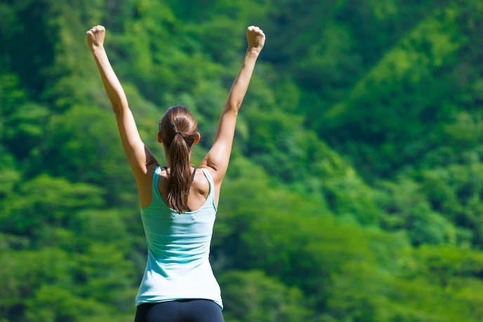 有酸素運動と無酸素運動でダイエットが成功した女性