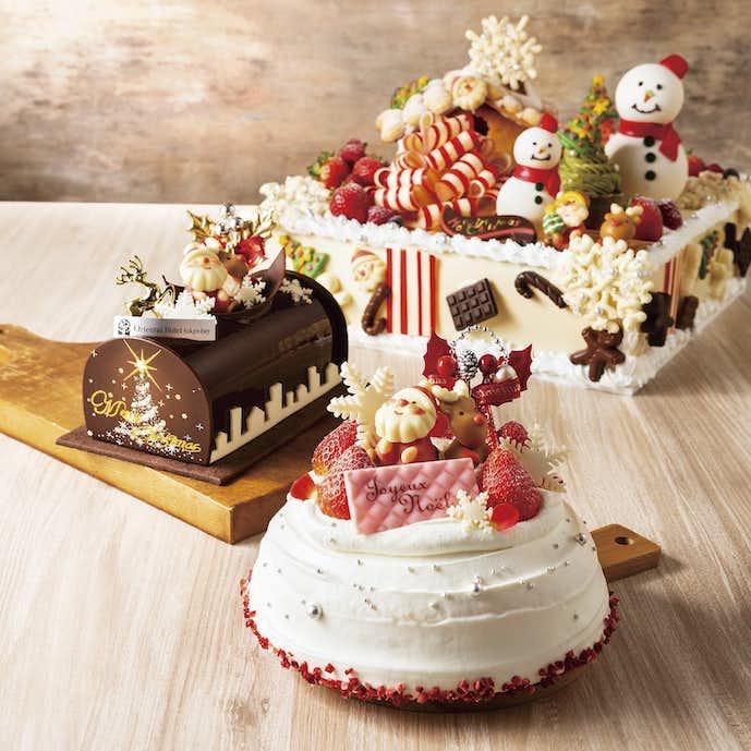 2018年の人気クリスマスケーキはオリエンタルホテル東京ベイ1