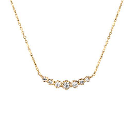 プレゼントにおすすめのネックレスは4℃のイエローゴールドネックレス
