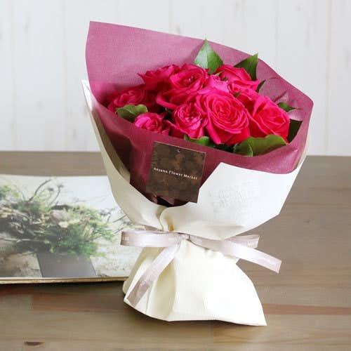 40代50代の妻へのクリスマスプレゼントは青山フラワーマーケットのバラ