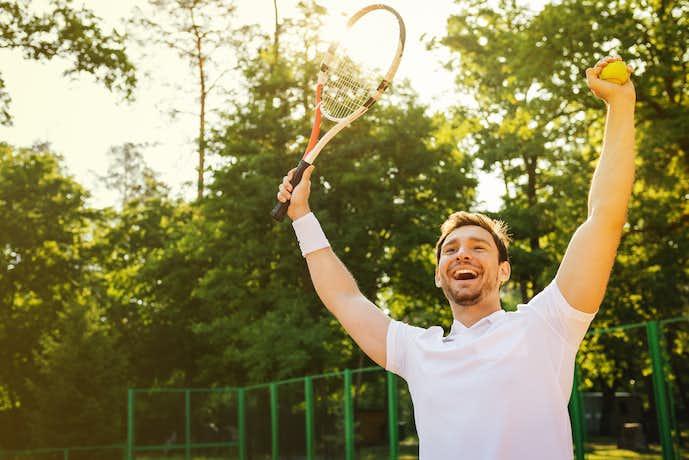 正しい筋トレを取り入れてテニスを上達させる