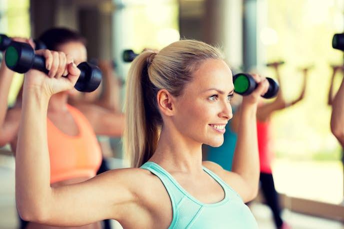 ダイエットに効果的な痩せる無酸素運動メニュー