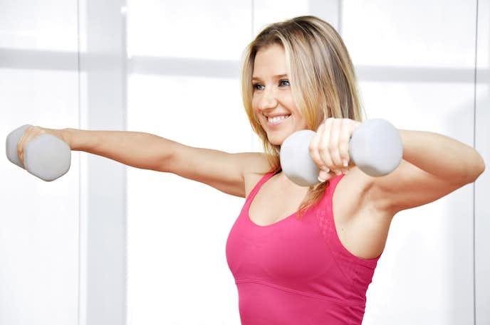 水泳でダイエットを成功させるためには筋トレが大切