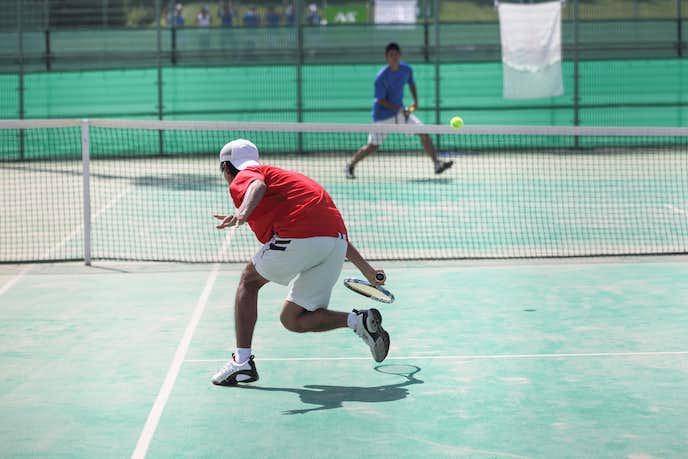 テニスには持久力が大切